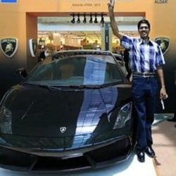 Indian taxi driver wins Lamborghini Gallardo LP550-2 in UAE