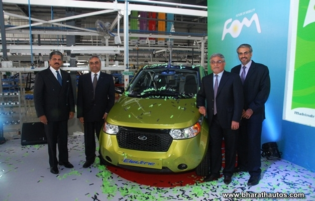 New Mahindra-Reva facility in Bangalore - 001