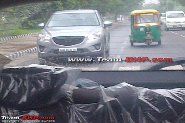 Mazda CX-5 India - FrontView
