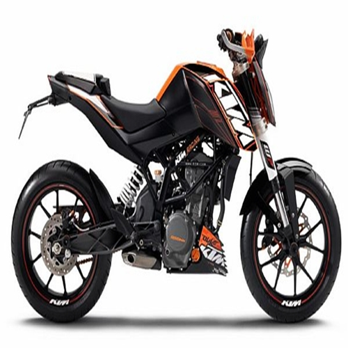 ktm introduces raceline stickers for duke 200