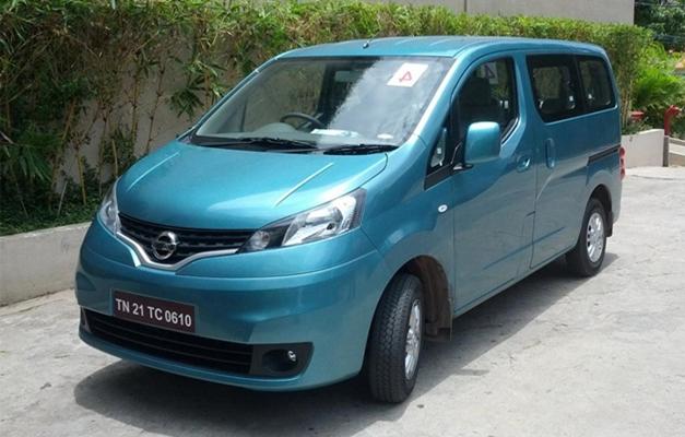 Nissan Evalia - FrontView