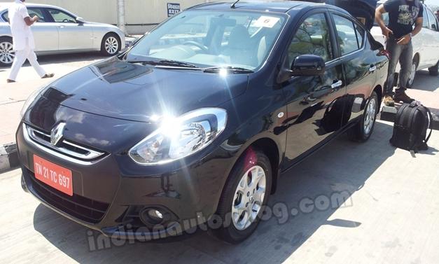 Renault Scala sedan - FrontView