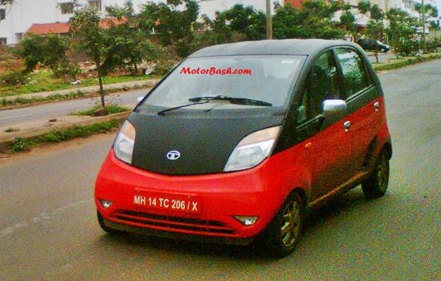 Mystery Tata Nano (Dual-tone color)