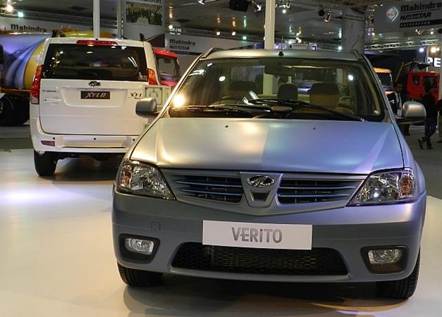 Mahindra Verito Electric - FrontView