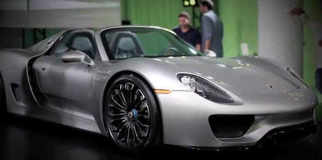 Porsche 918 Spyder hybrid supercar