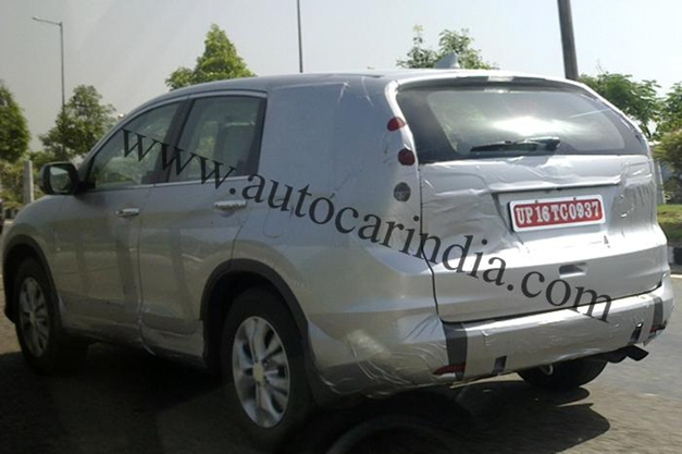 2013 Honda CR-V on Indian soil - RearView