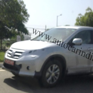 2013 Honda CR-V on Indian soil