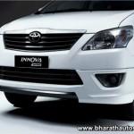 Toyota Innova Aero limited edition - Front fascia