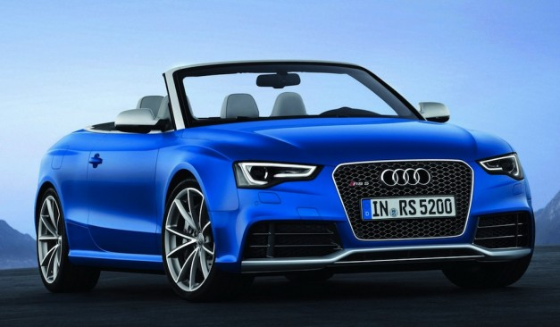 2013 Audi RS5 Cabriolet - FrontView