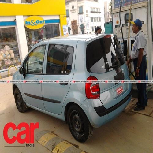 Renault Modus spied in New Delhi