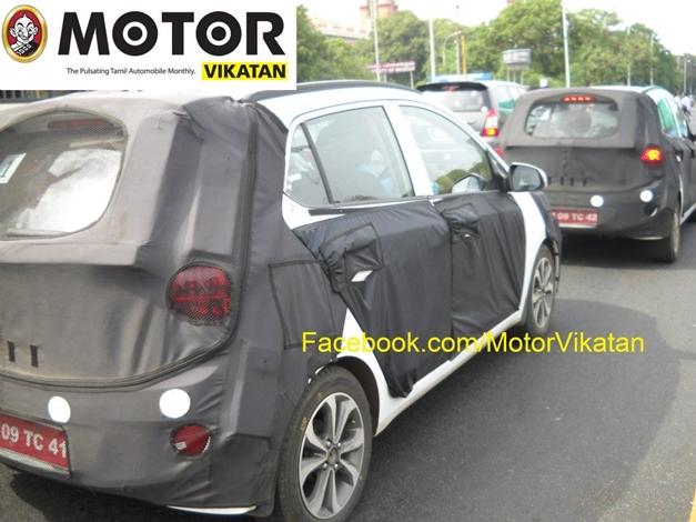 2014 Hyundai i10 in India - RearView