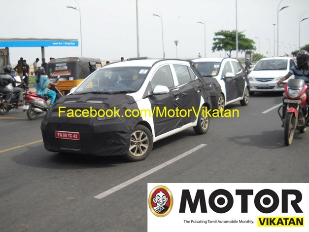 2014 Hyundai i10 in India - FrontView