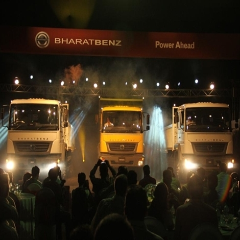 BharatBenz launches three heavy-duty trucks
