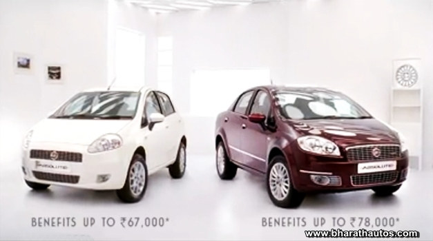 Fiat Punto & Linea Absolute editions