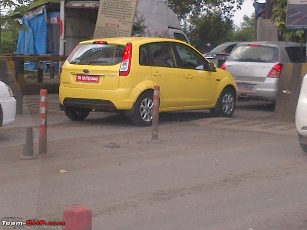 Ford Figo Facelift - SideView