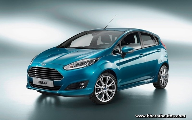 2013 Ford Fiesta hatchback - FrontView