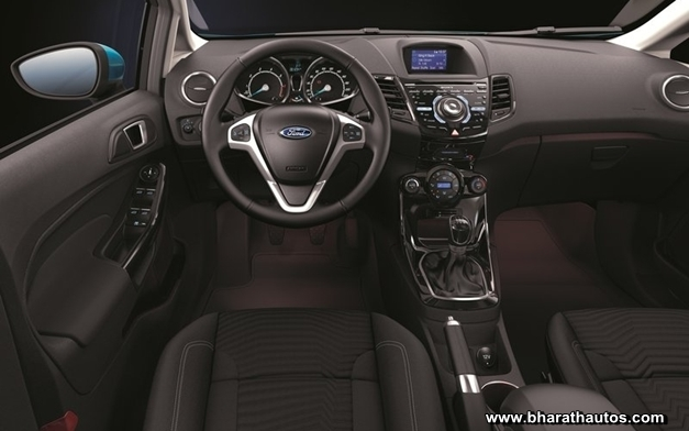 2013 Ford Fiesta hatchback - DashView