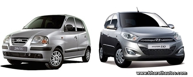 Hyundai India Launches Cng Kit For Santro I10 And Accent