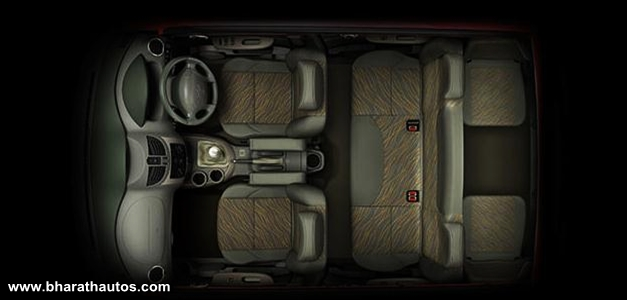 Mahindra Quanto - InteriorView
