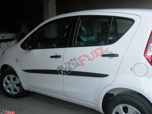 New Maruti Ritz - Left SideView