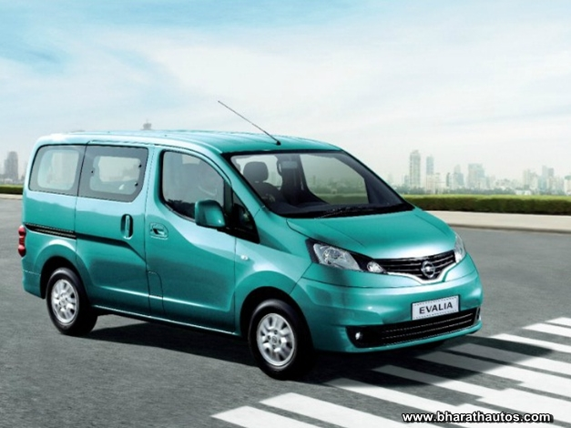 Nissan Evalia Mpv Launched In Delhi At Rs 8 49 Lakh