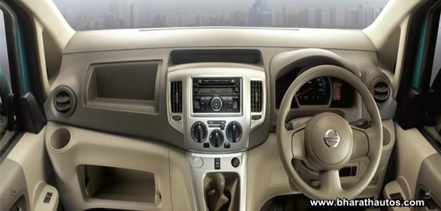 Nissan Evalia MPV - DashView
