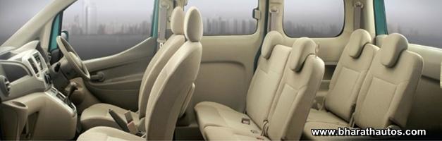 Nissan Evalia MPV - InteriorView