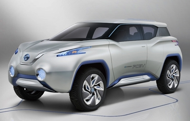Nissan TeRRA SUV Concept - FrontView