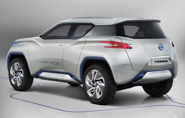 Nissan TeRRA SUV Concept - RearView
