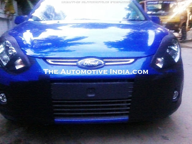 Ford Figo facelift - FrontView