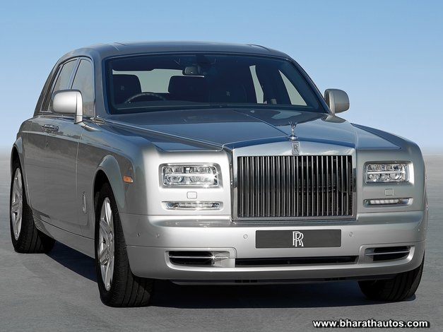 Rolls-Royce Phantom Series II (standard wheelbase version) - FrontView