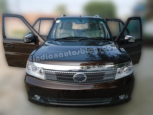 Tata Safari Storme SUV - FrontView