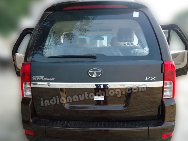Tata Safari Storme SUV - RearView