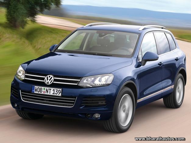 New Volkswagen Touareg - FrontView