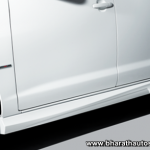 Toyota Innova Aero limited edition - Sporty side skirts