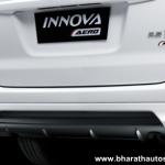 Toyota Innova Aero limited edition - Rear bumper spoiler