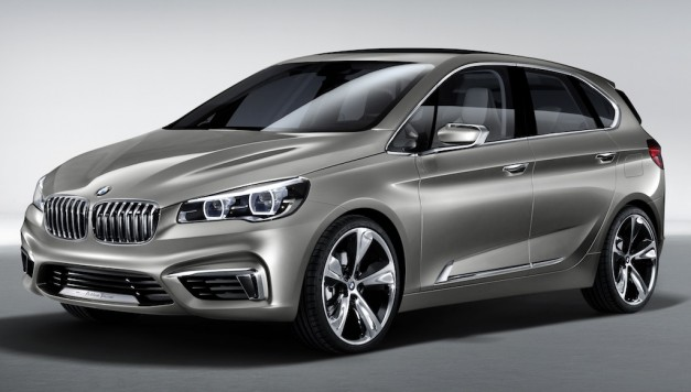 BMW Concept Active Tourer - FrontView