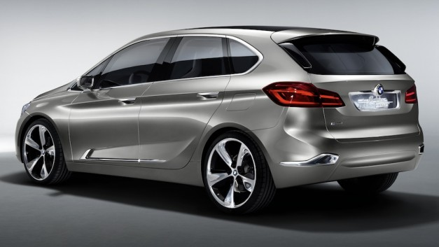 BMW Concept Active Tourer - RearView