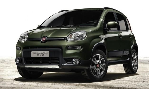 2013 Fiat Panda 4x4 - FrontView