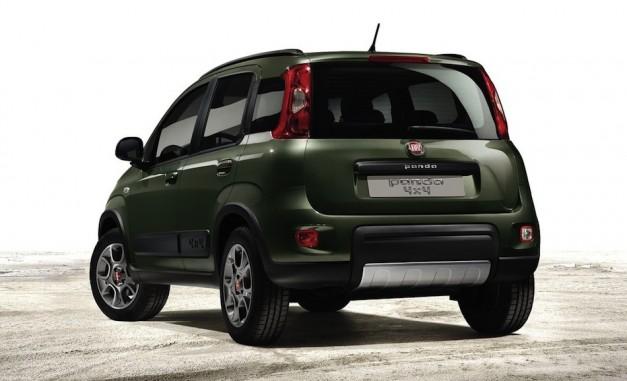 2013 Fiat Panda 4x4 - RearView