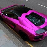 Matte Pink Lamborghini Aventador LP760-2 - 007