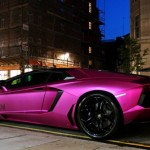 Matte Pink Lamborghini Aventador LP760-2 - 004