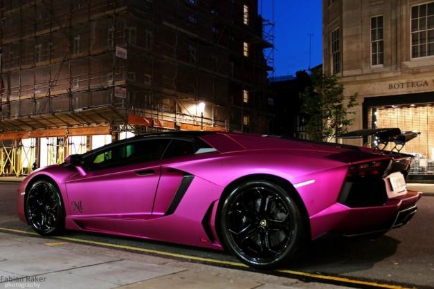 Matte Pink Lamborghini Aventador Lp760 2 By Oakley Design