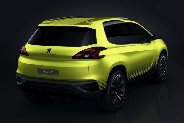 Peugeot 2008 Concept - 002