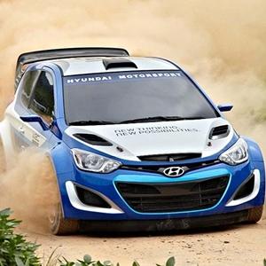 New Hyundai i20 WRC RaceCar