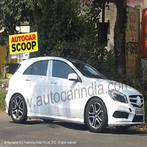 2013 Mercedes A-Class in India