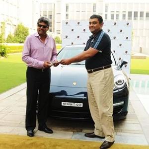Kapil Dev's Porsche Panamera diesel