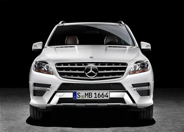 New Mercedes-Benz ML250 CDI