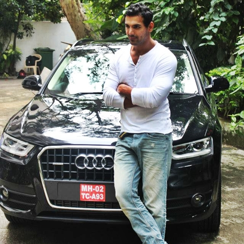 John Abraham gifts Audi Q3 to his sister-in-law for her birthday