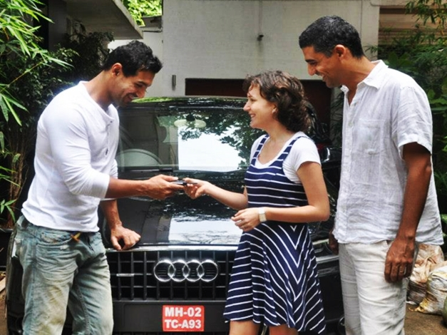 John Abraham gifts Audi Q3 to his sister-in-law for her birthday - 002